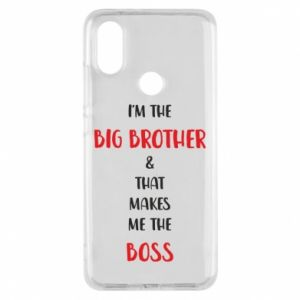 Phone case for Xiaomi Mi A2 I'm the big brother