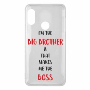 Phone case for Mi A2 Lite I'm the big brother