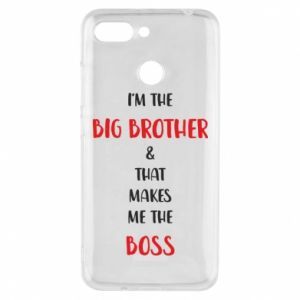 Phone case for Xiaomi Redmi 6 I'm the big brother