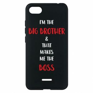 Etui na Xiaomi Redmi 6A I'm the big brother