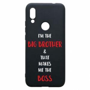 Etui na Xiaomi Redmi 7 I'm the big brother