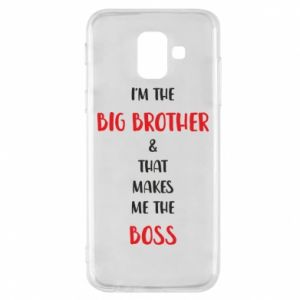 Etui na Samsung A6 2018 I'm the big brother