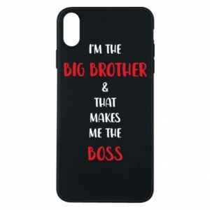 Phone case for iPhone Xs Max I'm the big brother