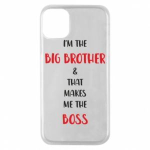 Phone case for iPhone 11 Pro I'm the big brother