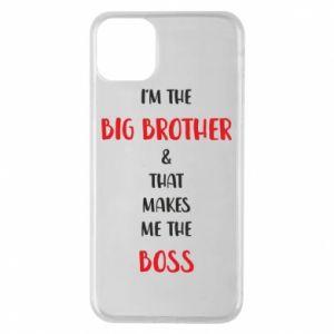 Etui na iPhone 11 Pro Max I'm the big brother