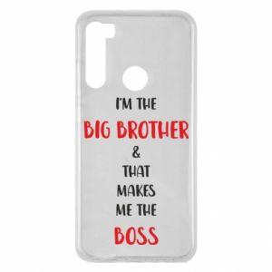 Etui na Xiaomi Redmi Note 8 I'm the big brother