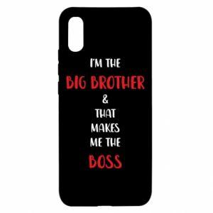 Etui na Xiaomi Redmi 9a I'm the big brother