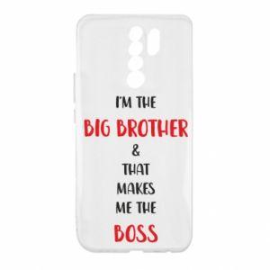 Etui na Xiaomi Redmi 9 I'm the big brother