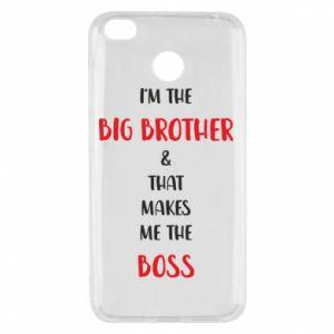 Etui na Xiaomi Redmi 4X I'm the big brother