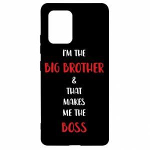 Etui na Samsung S10 Lite I'm the big brother