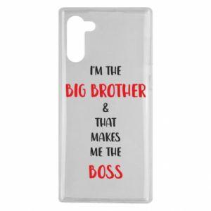 Etui na Samsung Note 10 I'm the big brother