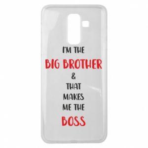 Etui na Samsung J8 2018 I'm the big brother