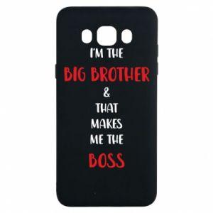 Etui na Samsung J7 2016 I'm the big brother