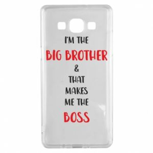 Etui na Samsung A5 2015 I'm the big brother