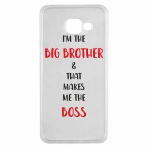 Etui na Samsung A3 2016 I'm the big brother