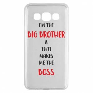 Etui na Samsung A3 2015 I'm the big brother