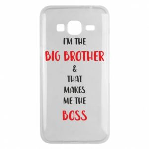 Etui na Samsung J3 2016 I'm the big brother