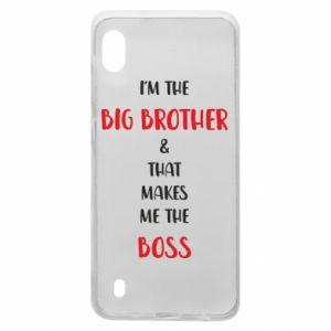 Etui na Samsung A10 I'm the big brother