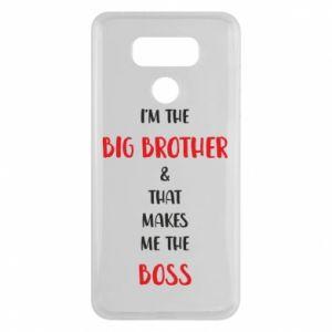 Etui na LG G6 I'm the big brother