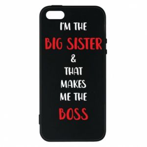 Etui na iPhone 5/5S/SE I'm the big sister