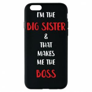 Etui na iPhone 6/6S I'm the big sister