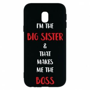 Etui na Samsung J3 2017 I'm the big sister