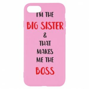 Etui na iPhone SE 2020 I'm the big sister