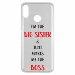 Etui na Huawei Y9 2019 I'm the big sister