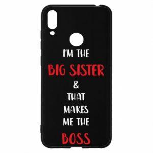 Etui na Huawei Y7 2019 I'm the big sister