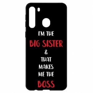 Etui na Samsung A21 I'm the big sister