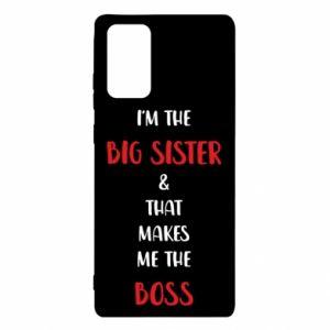 Etui na Samsung Note 20 I'm the big sister