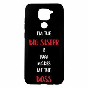 Etui na Xiaomi Redmi Note 9/Redmi 10X I'm the big sister