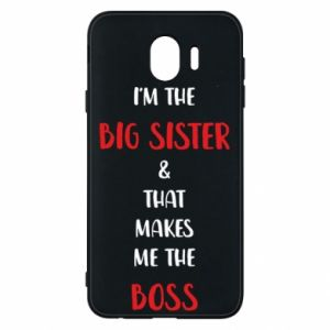Etui na Samsung J4 I'm the big sister