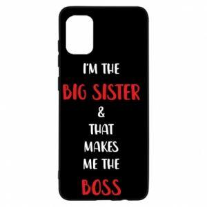 Etui na Samsung A31 I'm the big sister