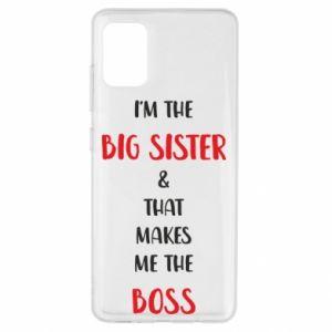 Etui na Samsung A51 I'm the big sister