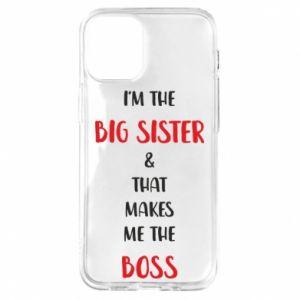 Etui na iPhone 12 Mini I'm the big sister