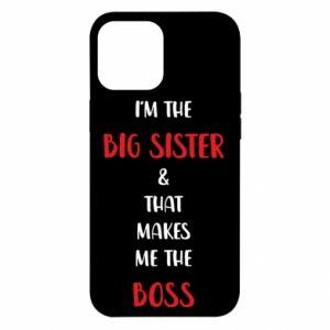 Etui na iPhone 12 Pro Max I'm the big sister