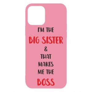 Etui na iPhone 12/12 Pro I'm the big sister