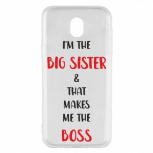 Etui na Samsung J5 2017 I'm the big sister