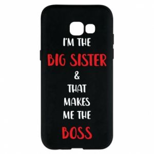 Etui na Samsung A5 2017 I'm the big sister