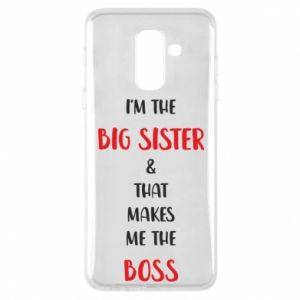 Etui na Samsung A6+ 2018 I'm the big sister