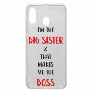 Etui na Samsung A20 I'm the big sister