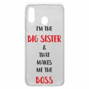 Etui na Samsung A30 I'm the big sister