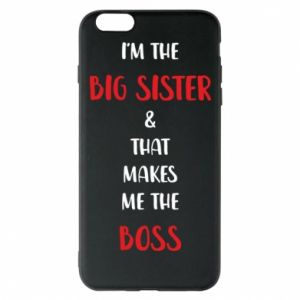 Etui na iPhone 6 Plus/6S Plus I'm the big sister