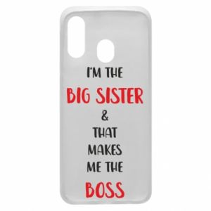 Etui na Samsung A40 I'm the big sister