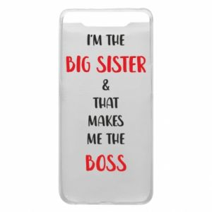 Etui na Samsung A80 I'm the big sister