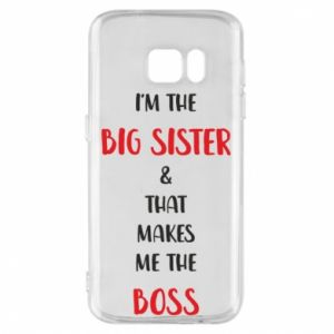 Etui na Samsung S7 I'm the big sister