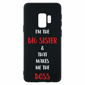 Etui na Samsung S9 I'm the big sister