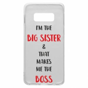 Etui na Samsung S10e I'm the big sister