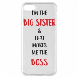 Etui na iPhone 7 I'm the big sister
